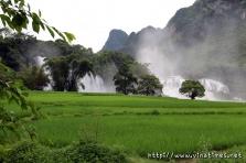 베트남 북부 최대 폭포 '반족폭포' [1]