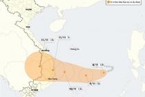 강력한 6호 태풍 나크리 접근 중.., 베트남 중부에서 남중부에 영향