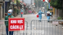 하노이市, 메링 지역 마을 전체 봉쇄.., 28일간 총 1만 명 이상