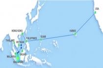 AAG 해저 광케이블 수리 완료.., 예정보다 4일 선행
