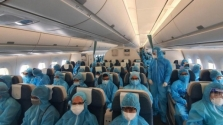 오늘 한국에서 베트남으로 약 200명 입국 예정.., 코로나 이후 첫 상용 항공편