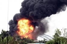 하노이: 화학물질 창고에서 대형 화재 발생