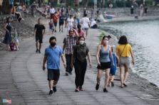 하노이시, 의도적 방역 방해에는 벌금 부과.., 모든 공원도 일시 폐쇄
