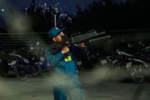 호찌민市, 새해맞이 불꽃놀이 촬영하던 드론 일제히 격추당해
