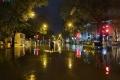 하노이, 갑작스런 폭우와 함께 맞이한 새해 첫 날