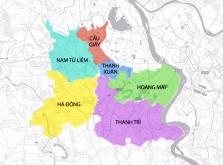 하노이, 문제의 상수도 회사 리스트 및 대상 지역.., 한국인 거주자 주의사항