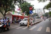 하노이, 일부 도로 교통 통제.., 오늘(10/10일) 월드컵 예선전 대비