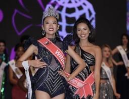 월드 미스 유니버시티 대회에서 베트남 여대생이 첫 그랑프리 수상