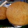 신기하고 놀랍게 만들어낸 공갈빵으로 만든 찹쌀떡