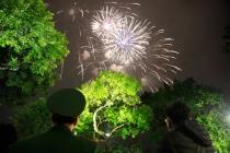 베트남, 전국에서 새해 맞이 '불꽃놀이' 행사
