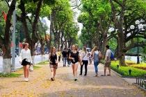 하노이, 관광객 다시 유입 추세.., 유럽 관광객 급격하게 증가