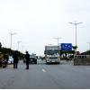 하롱시: 코로나 방역 위해 도로 출입구에 통제소 설치.., 모든 차량 출입 통제