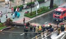 호찌민시: 폭우로 쓰러진 가로수 덮쳐 남성 1명 사망