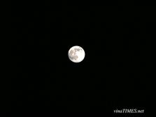 베트남에서 보는 추석 보름달