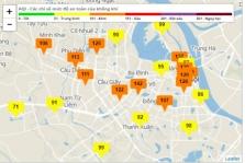 하노이시: 겨울철 대기질 악화 더 심각.., 마스크 착용 권장