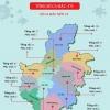 하이증성 지역의 코로나 확진자 분포 현황