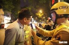 베트남, 집중 단속 15일 동안 음주운전 약 1만명 단속