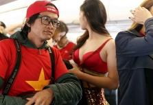 ASIAD 2018: 베트남 미녀들의 열정적인 축구 응원