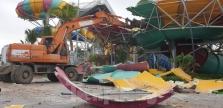 하노이에서 가장 큰 워터파크 철거.., 불법 건축물로 강제 집행