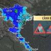 찬공기 유입으로 베트남 북부와 중부에 걸쳐 '폭우'