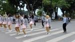 하노이 길거리 댄스팀