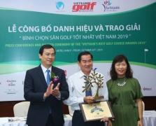'2019년 베트남 최고의 골프 코스 어워드 톱10' 발표