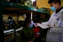 중국에서 돌아온 베트남인 2,300명 막사에서 별도 격리 중