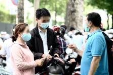호찌민시: 시민들에게 공공장소에서 마스크 착용 당부