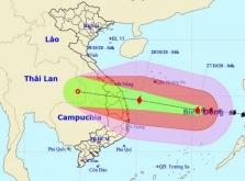 베트남, 강력한 9호 태풍 '몰라베' 중부지역 접근 중.., 오늘밤부터 영향 예상
