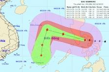 베트남, 태풍 7호 '간무리' 접근 중.., 내일부터 남부지역 영향 예상
