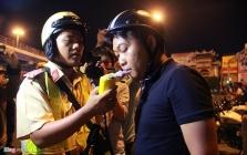 호찌민市, 모든 차량에 대한 음주 운전 검사.., 12월 14일까지