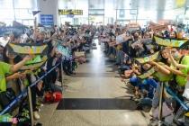 오늘 노이바이 공항에 한국 스타 100여명 총 출동.., AAA 2019 참석