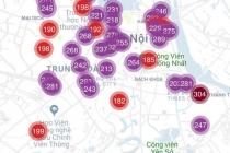 하노이, 최근 사상 최악의 공기 오염.., 외출시 주의 필요