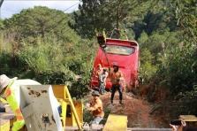 달랏, 호찌민에서 달랏으로 향하던 버스 브레이크 고장으로 추락